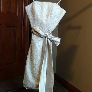 Beautiful Mori Lee by Madeline Gardner lace dress